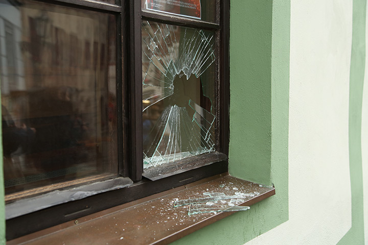 A2B Glass are able to board up broken windows while they are being repaired in West Ham.